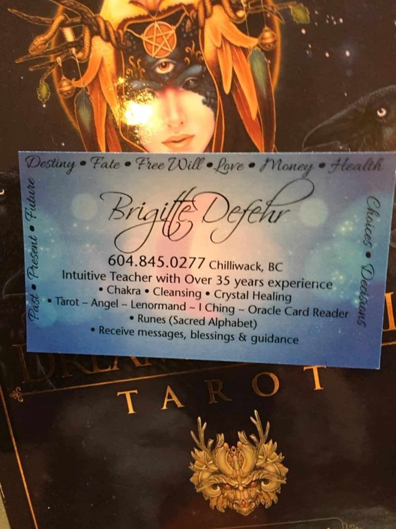 Brigitte Defehr - Tarot Oracle Angel Card Reader - Opening