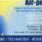 Air Pur 1999 - Ventilation Contractors - 418-629-5710