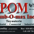 Plomberie Plomb-O-Max Inc - Plumbers & Plumbing Contractors - 418-602-4400