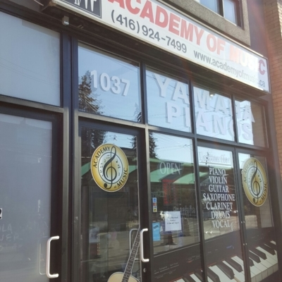 Academy Of Music - Music Lessons & Schools - 416-924-7499