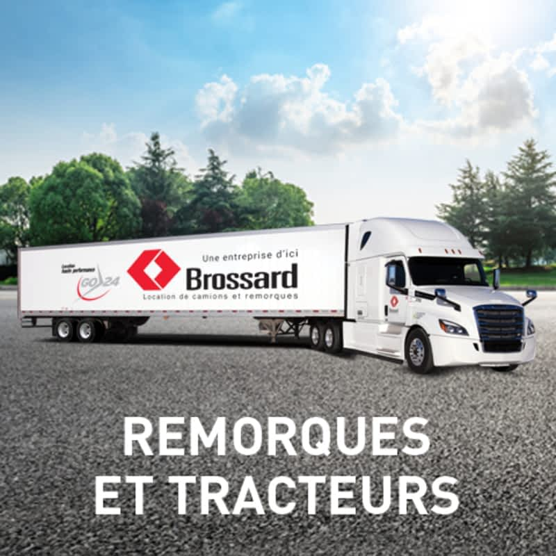 photo Location Brossard, Location de camions et remorques