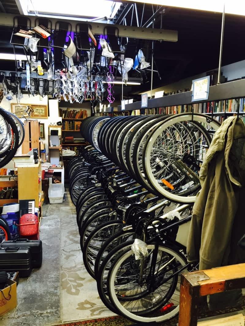 photo Sandy's Cycle Shop & Books
