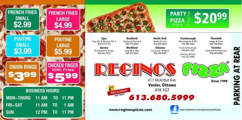 photo Reginos Pizza