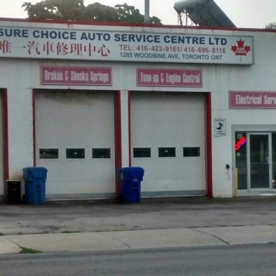 Sure Choice Auto Service Centre Ltd - Auto Repair Garages
