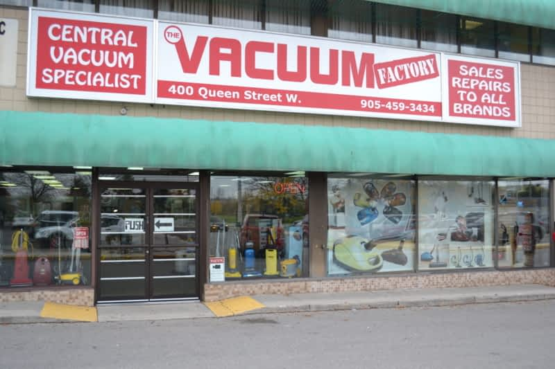 Vacuum Factory Inc Brampton On 400 Queen St W Canpages