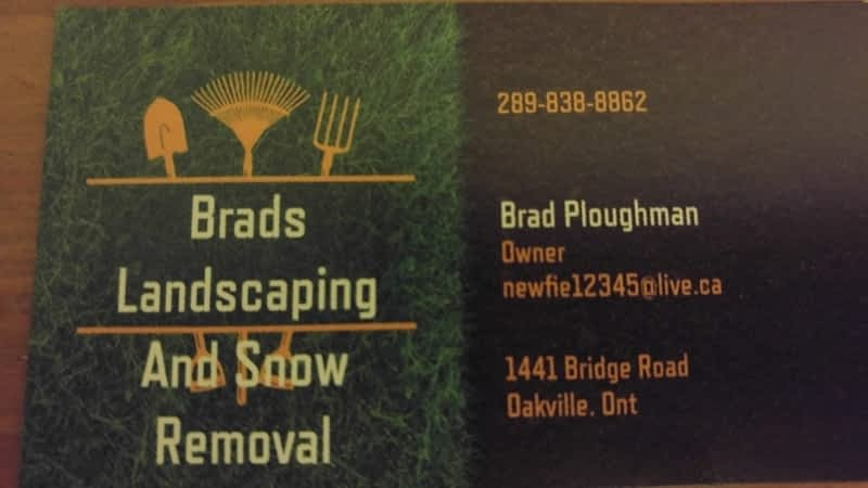 photo Brad's Landscaping and Snow Removal