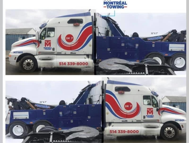 photo Montreal Towing INC