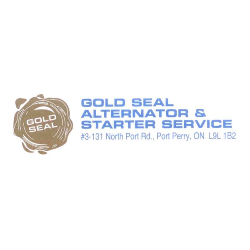 Gold Seal Alternator Amp Starter Services Barrie On 110