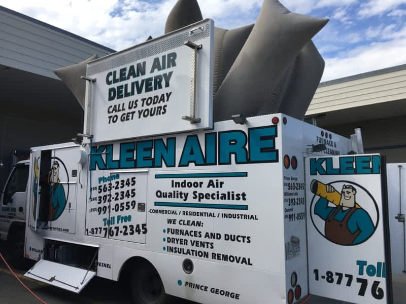 Kleen Aire Services Williams Lake Bc 1290 Borland Rd
