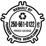 Pioneer Parts Rebuilding Ltd - Machine Shops