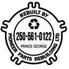 Pioneer Parts Rebuilding Ltd - Hydraulic Equipment & Supplies