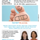 Appleby Foot Care & Orthotics - Chiropodists - 905-681-3338
