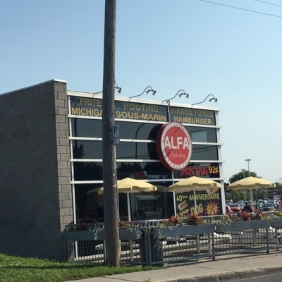 Alfa Hot Dog Inc - Burger Restaurants - 450-647-5701