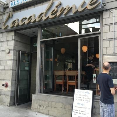 Restaurant L'Académie - Seafood Restaurants - 514-849-2249