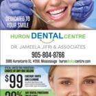 Dr Jameela Jifri - Huron Dental Centre - Service d'urgence dentaire - 1-855-393-0900