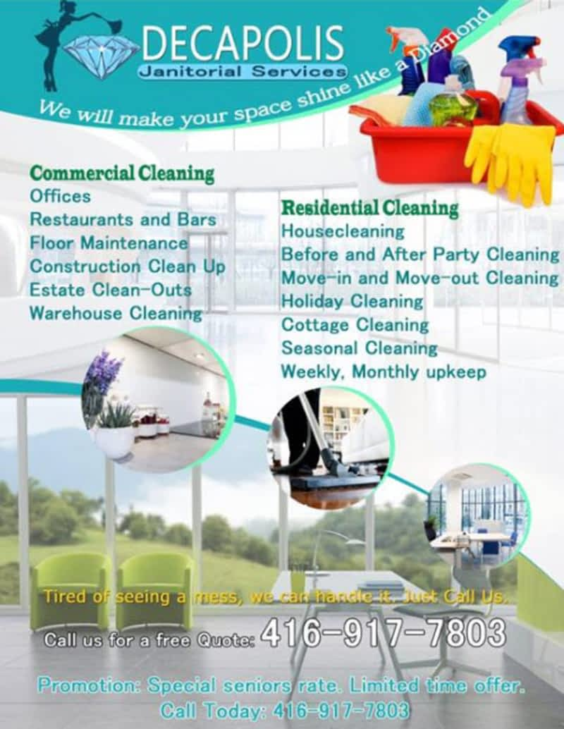 photo Decapolis Janitorial Services