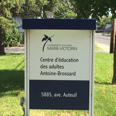 Centre d'Éducation des Adultes Antoine-Brossard - Commission Scolaire Marie-Victorin - Elementary & High Schools - 450-443-0017