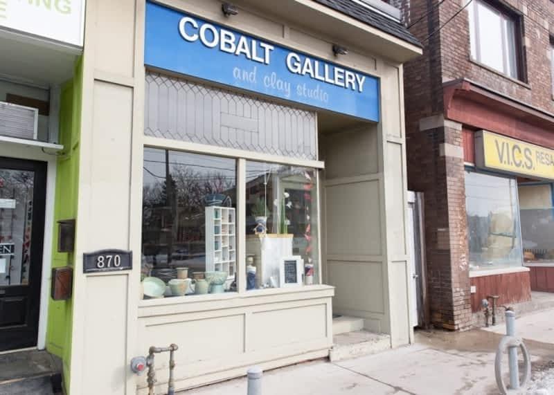 Cobalt gallery clay studio toronto on 870a kingston for 98 degrees tanning salon scarborough