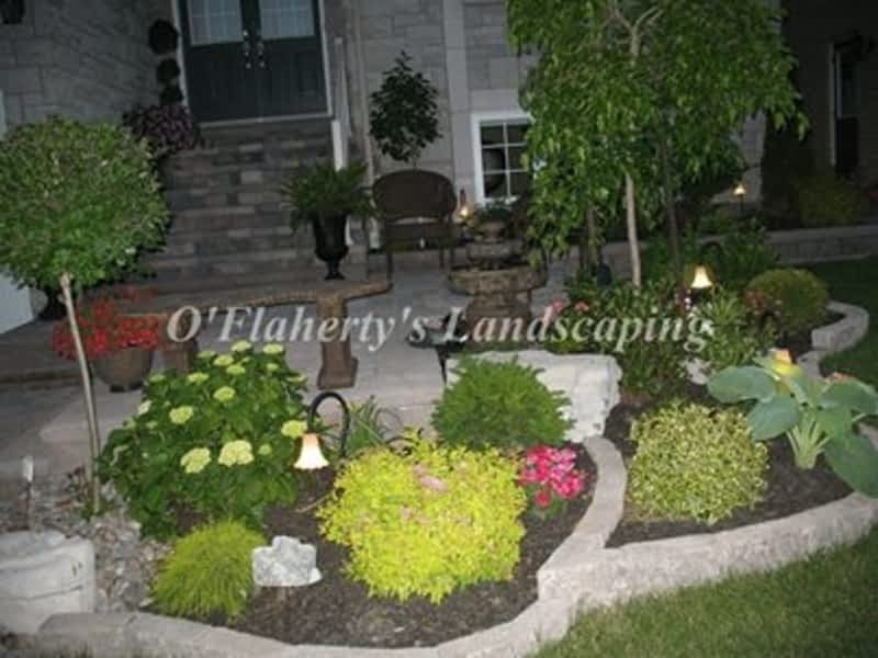 Landscaped Gardens Facility: O'Flaherty's Landscaping & Garden Center - Whitby, ON - 1675 Victoria W