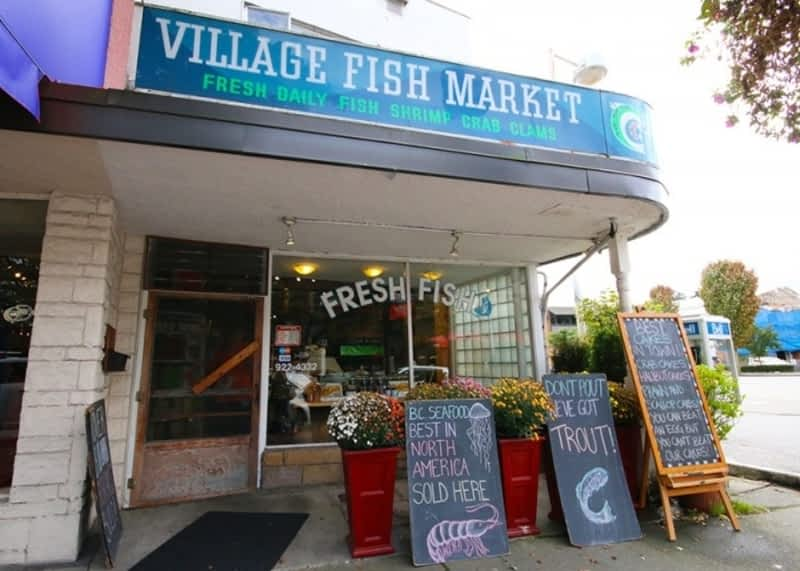 The village fish oyster market inc west vancouver bc for Village fish market