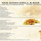 Van Gogh Bar & Grill - Pizza et pizzérias