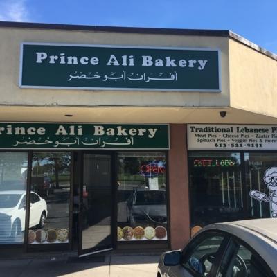 Prince Ali Bakery Ltd - Bakeries - 613-521-9191