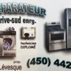 Le Réparateur de la Rive-Sud - Magasins de gros appareils électroménagers - 450-442-1001