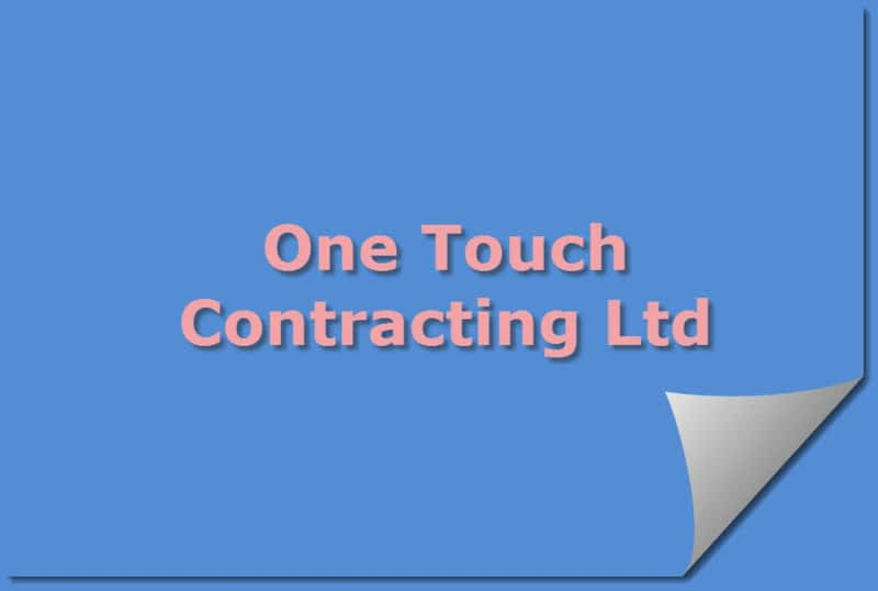 photo One Touch Contracting Ltd