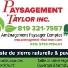 Paysagement Taylor Inc - Landscape Contractors & Designers - 819-321-7557