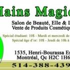 Mains Magiques - Salons de coiffure et de beauté