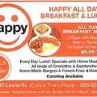 Happy All Day Breakfast & Lunch - Sandwiches & Subs