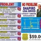 Shapiro Legal Services - Service de référence aux avocats - 647-932-2147