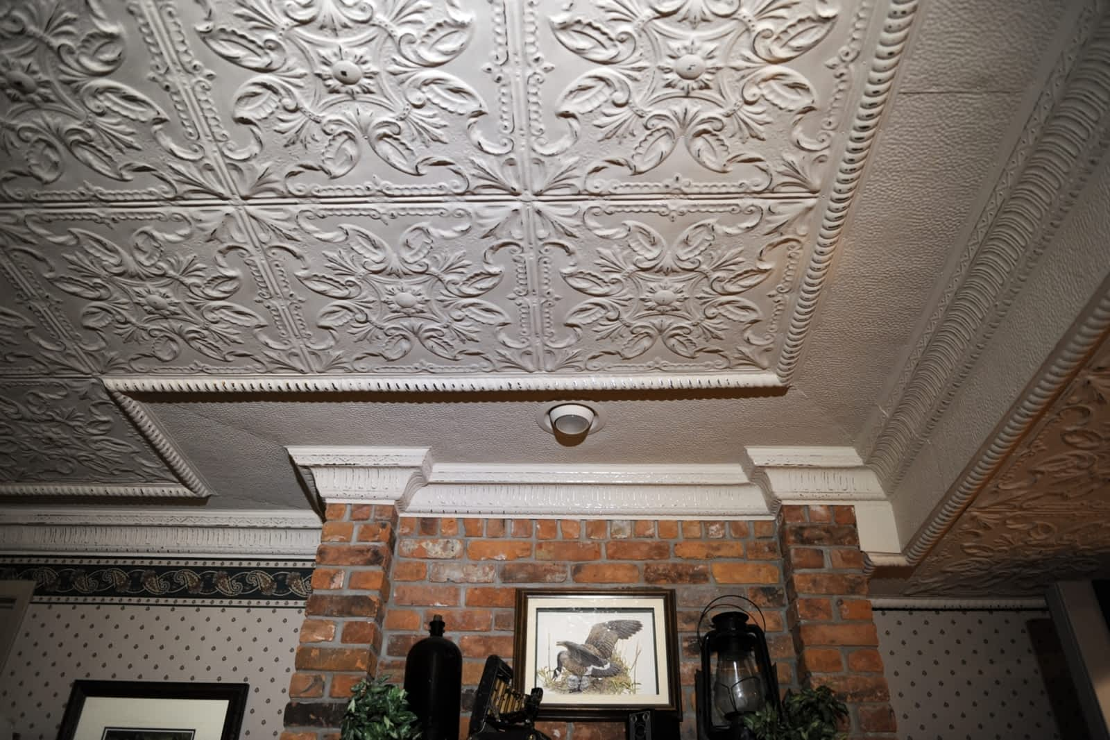 make to and stamped ceiling install decorate tos how tin upcycling a ceilings diy