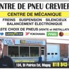 View Centre de Pneus Crevier's Magog profile