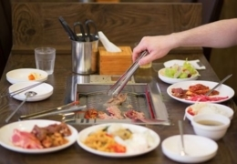Korean barbecue spots in Calgary