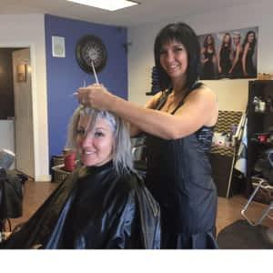 Salon de coiffure hull tache