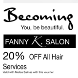 View Fanny K. Salon's Richmond Hill profile