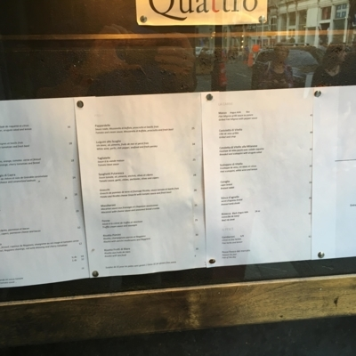 Quattro Ristorante - Restaurants italiens - 514-903-2909
