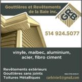 View Gouttières et Revêtements de la Baie Inc's Saint-Armand profile