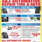 A & J Auto Repairs - Car Repair & Service - 905-857-7596