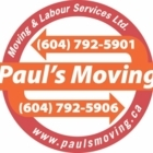 Paul's Moving and Labour Services LTD. - Moving Services & Storage Facilities - 778-808-2398