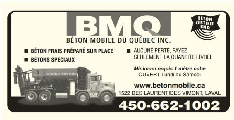 photo Béton Mobile du Québec Inc