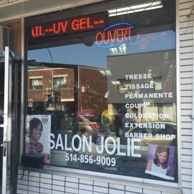 Salon Jolie - Hairdressers & Beauty Salons - 514-856-9009
