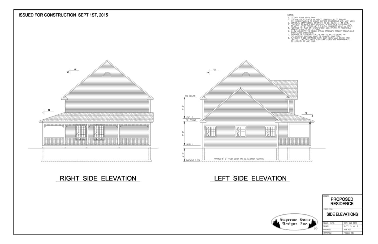 Supreme Home Designs Inc - Opening Hours - PO Box 1222, Goulds, NL