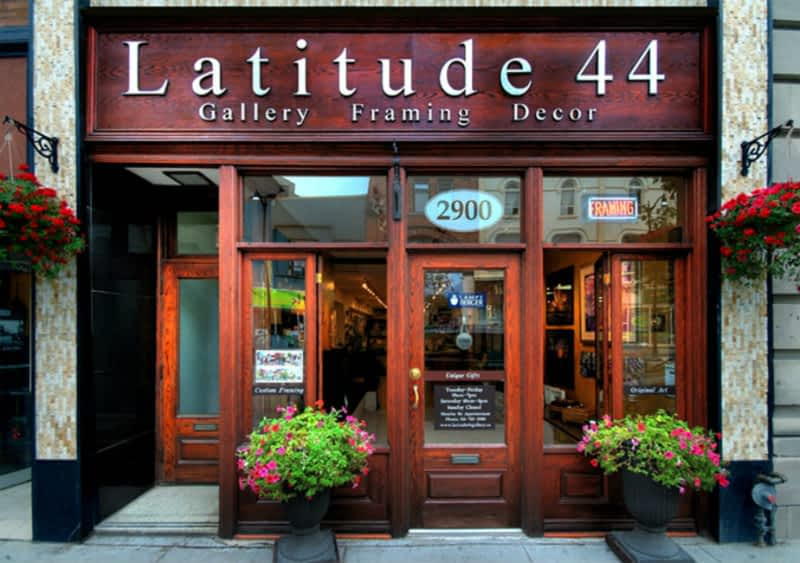 photo Latitude 44 Gallery Framing Decor
