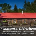 La Maison Du Défricheur - French Restaurants - 450-451-5809