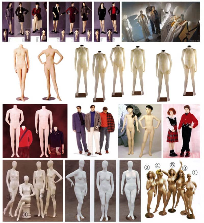 photo King's Display Rack & Mannequins