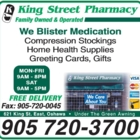 King Street Pharmacy - Pharmacies - 905-720-3700