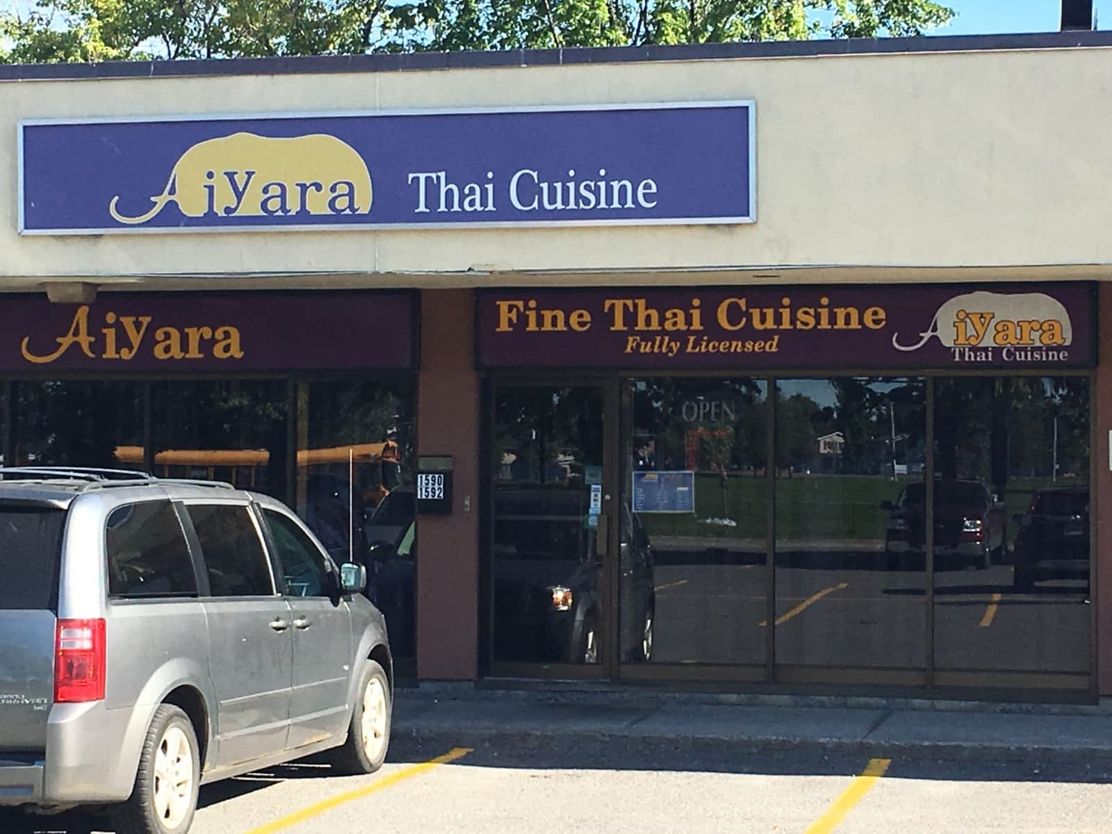 aiyara thai cuisine menu hours prices 1590 walkley