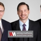 Wirsig Matheos Insurance Denial Lawyers - Avocats - 604-583-2200